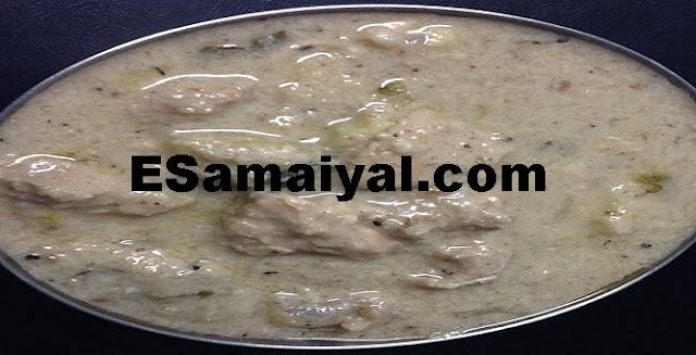 தேங்காய் பால் கோழிக் குழம்பு செய்வது | Coconut milk chicken broth !