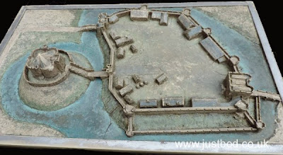 Model of Clifford's Tower, York