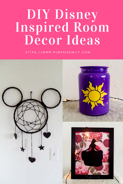 DIY Disney Room Decor Ideas