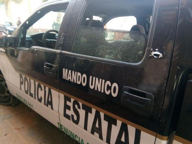"""Comando de 30 sicarios vestidos de """"Marinos"""" y armados hasta los """"dientes"""" atacan a policías hay dos fallecidos en EdoMex"""