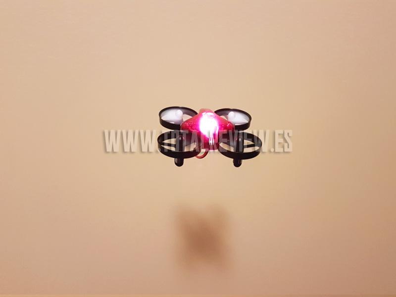drone barato, prueba de vuelo y review final