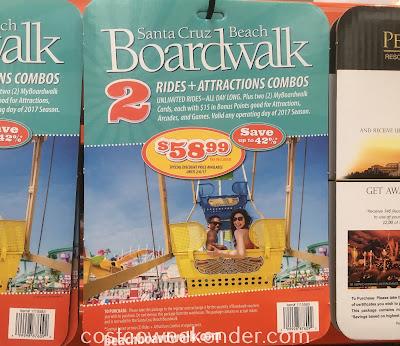 Enjoy a day of rides and games at the Santa Cruz Beach Boardwalk