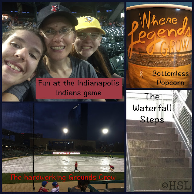 Indianapolis Indians, baseball game, summer vacation
