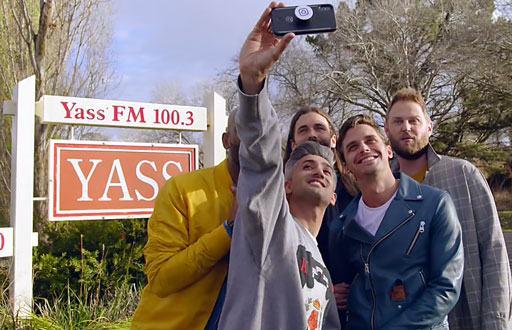 The cast of Netflix's 'Queer Eye' goes down under to Australia to help out folks in a town called Yass