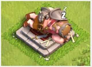Lama dan Biaya Upgrade Heroes Barbarian King COC
