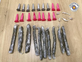 POLÍCIA MILITAR DETÉM DUPLA NO TRÁFICO DE DROGAS EM IGUAPE