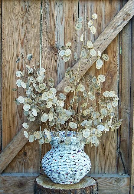 wazon wyplatanki