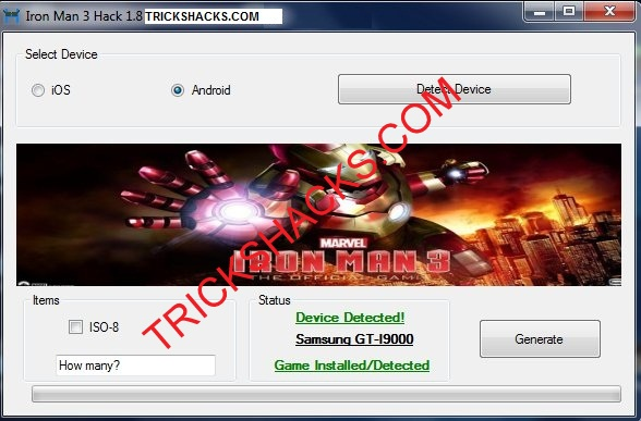 IRON MAN 3 THE OFFICIAL GAME HACK CHEATS TOOL