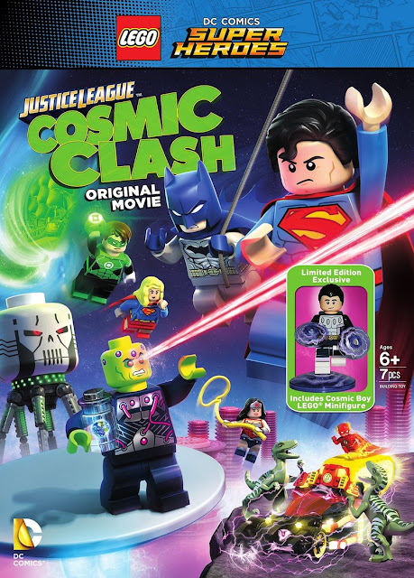 Film Lego DC Justice League Cosmic Clash (2016) Subtitle Indonesia
