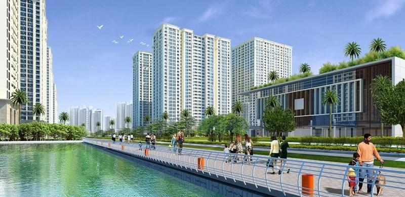 Phối cảnh quan dự án chung cư Vincity Tây Mỗ Đại Mỗ