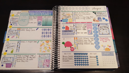 A Look In My Planner: 7.27.15 - 8.2.15