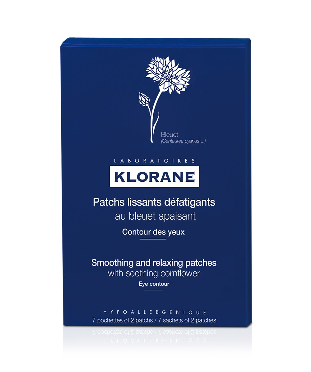 Klorane Smoothing and Relaxing Patches with Cornflower are used on the eye  area to soothe and soften skin around the eye. They refresh, moisturize and  ... a3f41b718bf