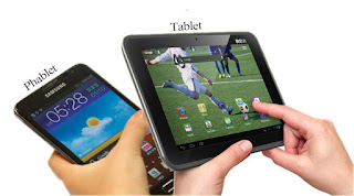 perbedaan tablet dan phablet