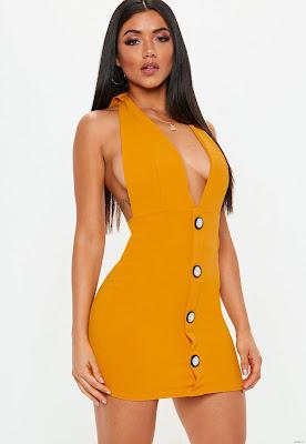 Vestidos Cuello Halter