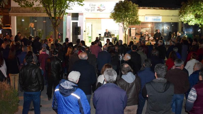 """Ορεστιάδα: Εγκαινιάστηκε το Εκλογικό Κέντρο της Αυτόνομης Κίνησης Πολιτών """"Είναι στο Χέρι μας"""""""