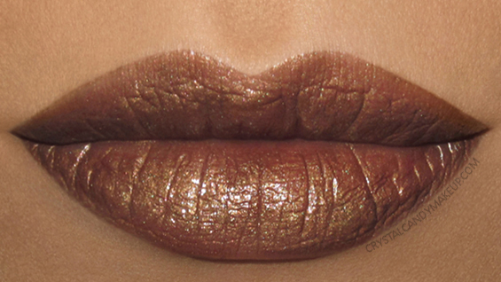 Urban Decay Vice Lipstick Vintage Swatch Smog