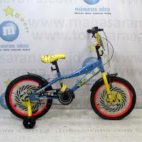 18 wimcycle minion lisensi sepeda anak bmx