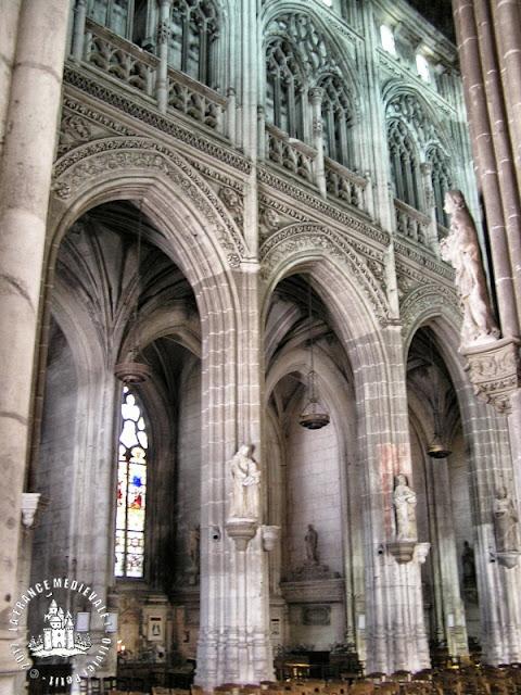 PONT-AUDEMER (27) - Eglise Saint-Ouen