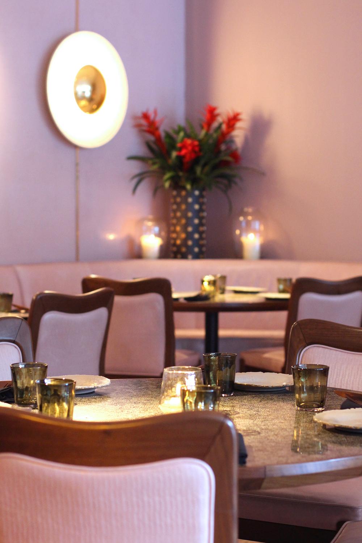 Ella Canta restaurant decor, London - UK lifestyle blog