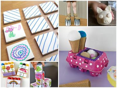 10 giochi lavoretti da fare per e con bambini con materiali riciclati donneinpink magazine - Lavori da fare a casa ...