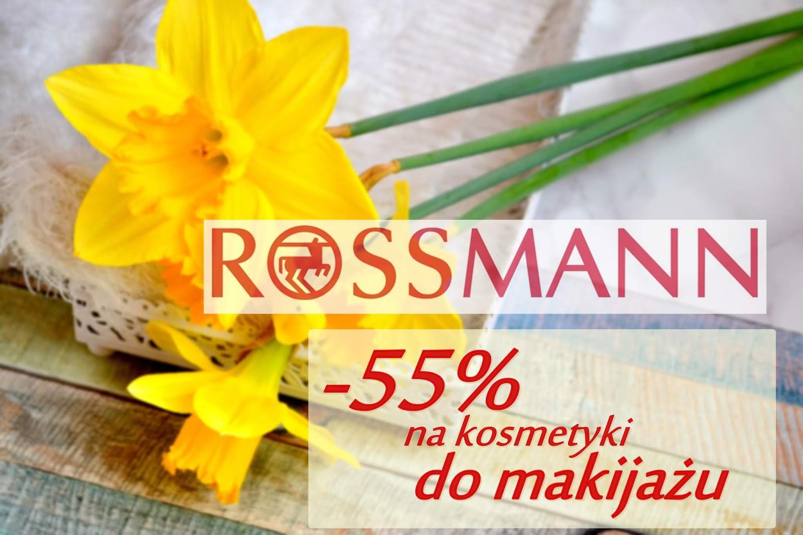 ROSSMANN -55% PAŹDZIERNIK 2018 | CIEKAWE NOWOŚCI | CO PLANUJĘ KUPIĆ | ANTY WISHLISTA