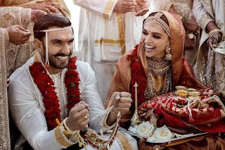 First Official Photos: Ranveer Singh & Deepika Padukone's Wedding Photos!