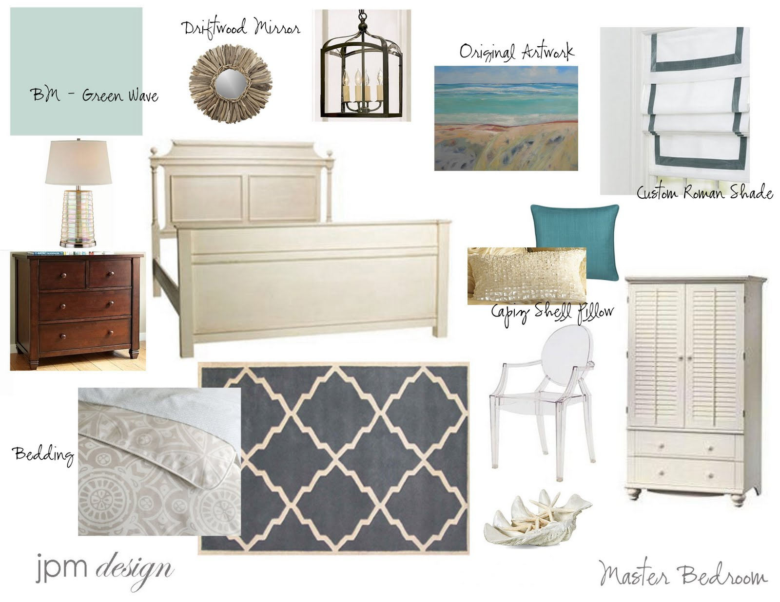 Photos Of Beach Inspired Bedrooms: JPM Design: Project Update: Master Bedroom
