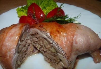 Udka faszerowane mięsem mielonym