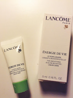 Lancome Energie de Vie Smoothing & Glowing Liquid Care Moisturizer