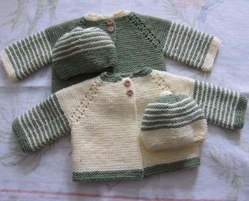Beautiful Skills - Crochet Knitting Quilting : Garter Stitch Baby ...