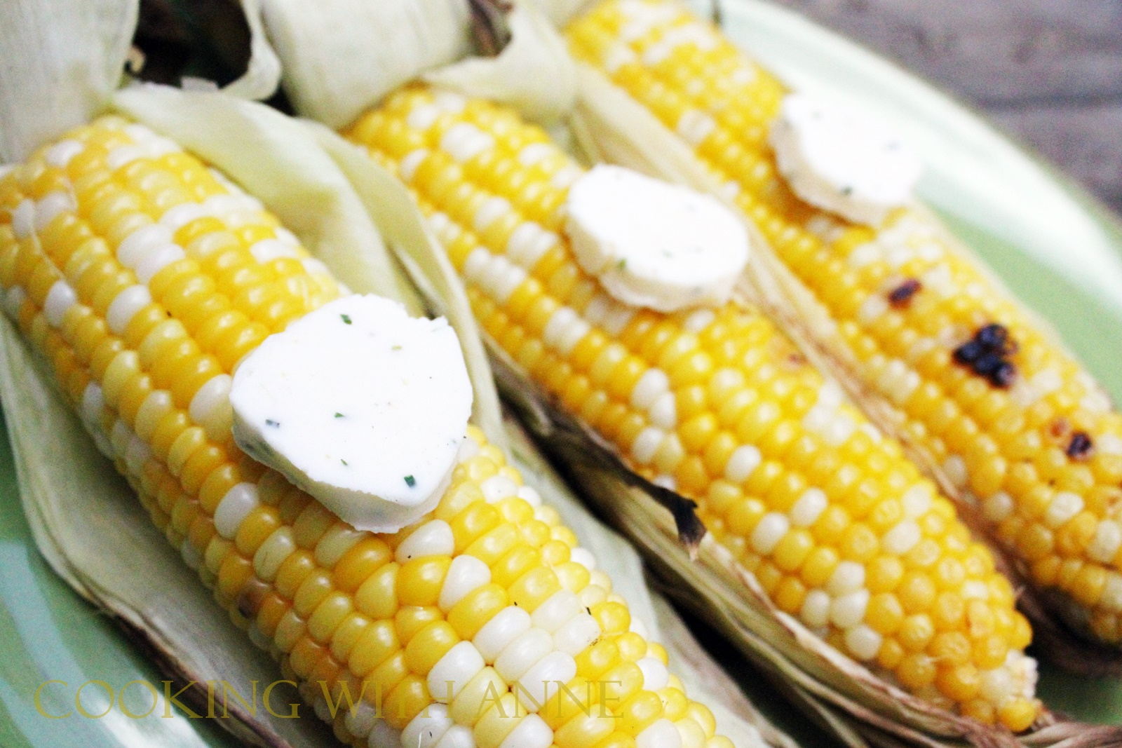 Cooking with Anne: Veggie Wednesday: Grilled Corn with ...
