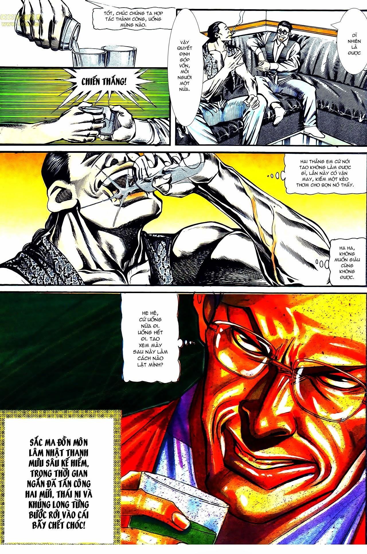 Người Trong Giang Hồ chapter 122: phố dục lạc trang 7