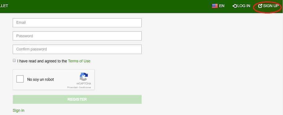 crear cuenta en mercatox para comprar raiblocks