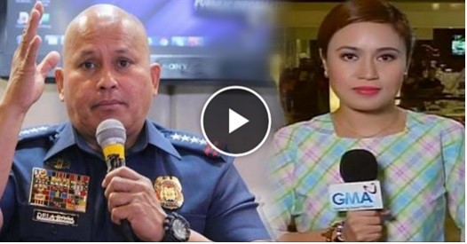 WATCH! PNP chief Bato to Mariz Umali: You're trying to discredit me in public