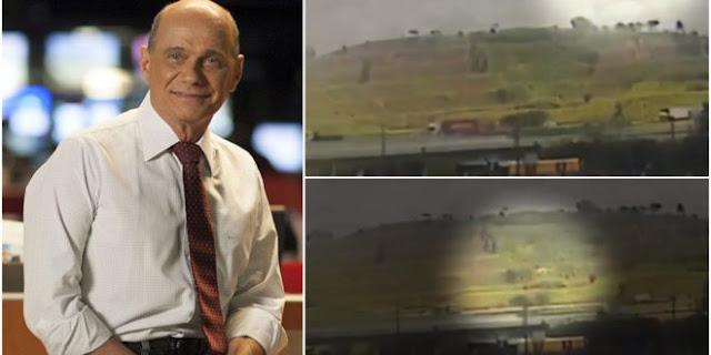 Vídeo mostra queda de helicóptero com Boechat e piloto; assista!
