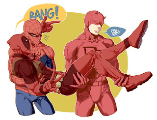 Funny Marvel - Spider-Man, Daredevil, Deadpool