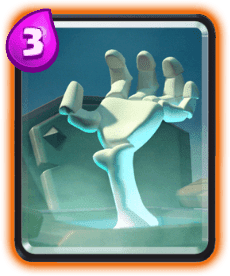 Carta Lápide de esqueletos de Clash Royale - Cards Wiki