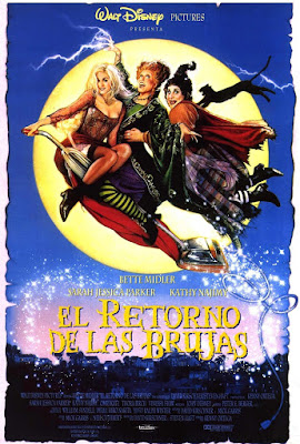 El retorno de las brujas, Disney, Halloween, Bette Midler, Sarah Jessica Parker, Tora Birch, Doug Jones, Kenny Ortega