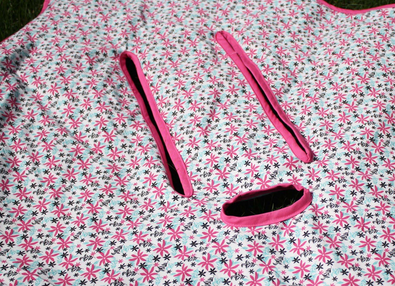 Car Blanket: Running With Scissors: Car Seat Blanket Gift