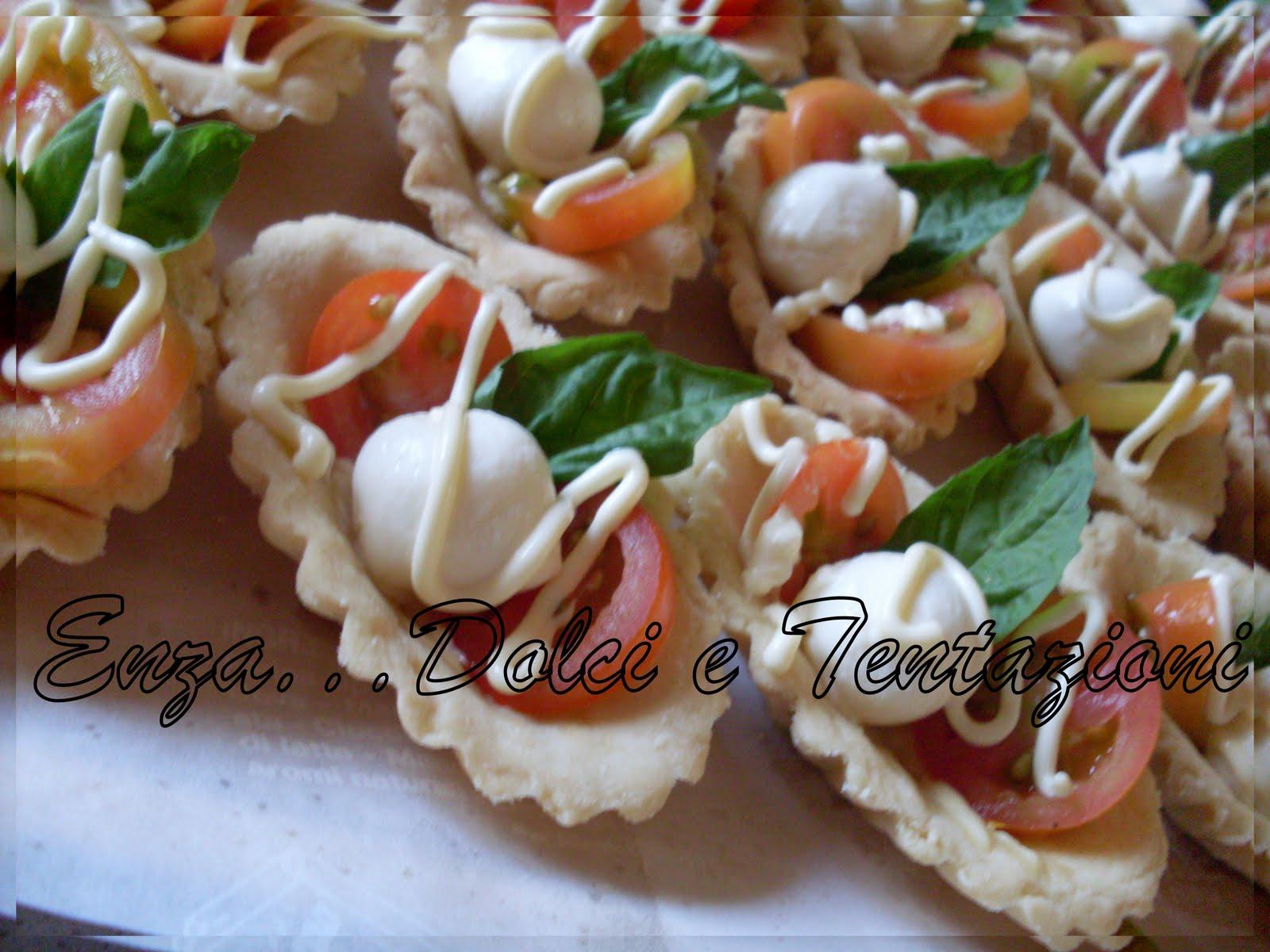 abbastanza dolci-decorazionietentazioni: Tartellettete Capresi FL99