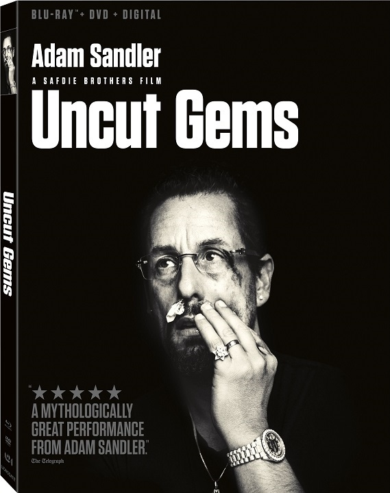 Uncut Gems arrives on Blu-ray™ and DVD March 10 (Lionsgate)