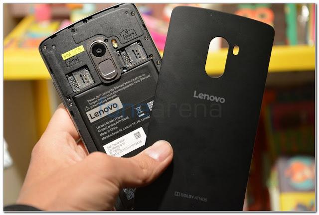 smartphone gaming terbaik Lenovo Vibe K4 Note
