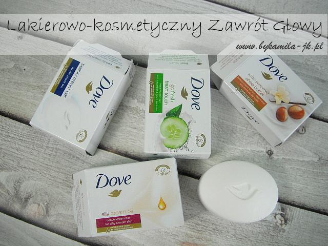 Mydło kostka myjąca Dove Silk Cream oil Shea Butter Go Fresh