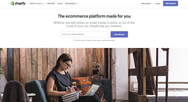 shopify ecommerce online business