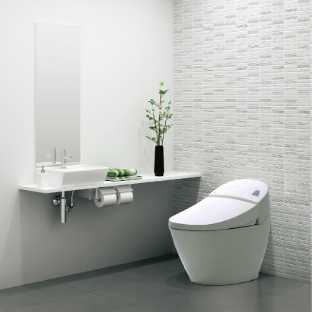 Bồn cầu Inax cho phòng tắm hiện đại