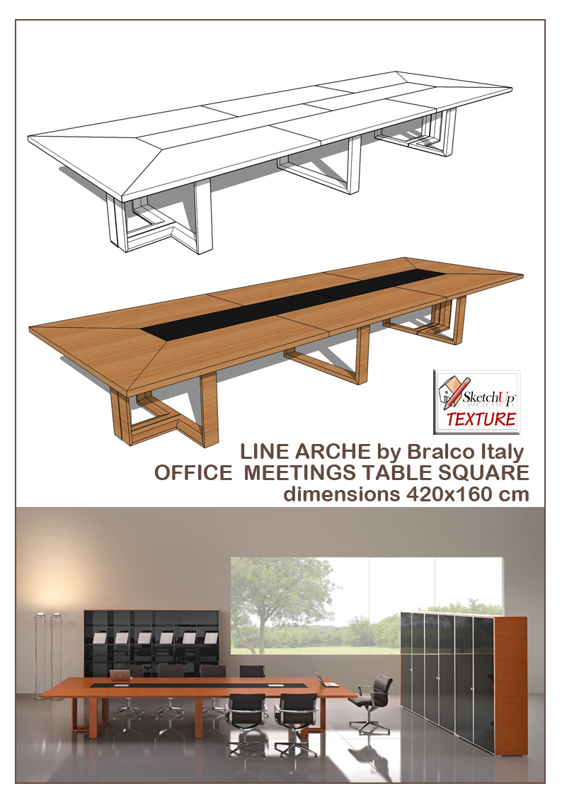 SKETCHUP TEXTURE SKECHUP MODELS TABLE