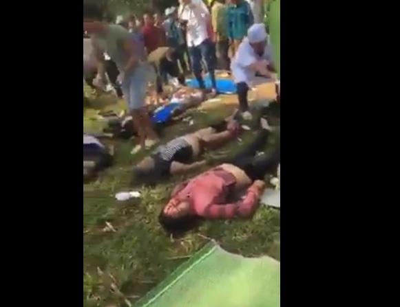Full clip hiện trường vụ tai nạn thảm khốc tại Tam Đường Lai Châu