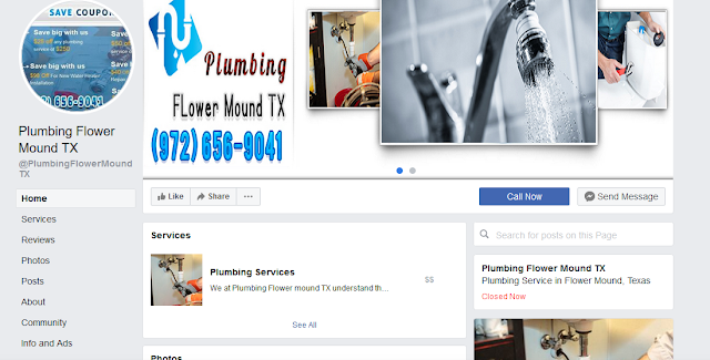 https://www.facebook.com/PlumbingFlowerMoundTX/