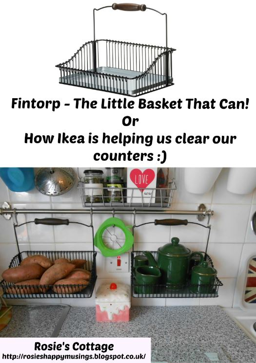 Ikea Fintorp - The secret to our clear kitchen counter