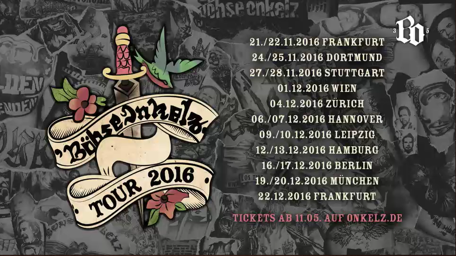 Snab Webzine Blog Onkelz Hallen Tour 2016